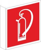 Fahnenschild Feuerlöscher nach BGV A8 (F05)