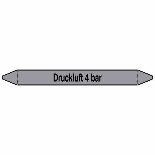 Brady Rohrmarkierer mit Text Druckluft 4 bar