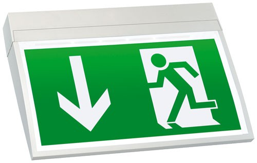 SQS®-LED-Rettungszeichenleuchte