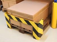 Mobiler Anfahrschutz für Paletten