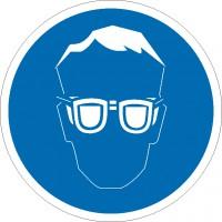 Gebotszeichen  Augenschutz benutzen nach BGV A8 (M01)