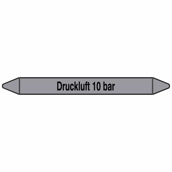 Brady Rohrmarkierer mit Text Druckluft 10 bar