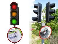 Verkehrsspiegel TRIXI für Straßen