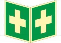 Nasenschild Erste Hilfe nach BGV A8 (E03)