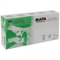 Untersuchungshandschuhe MAPA Solo 997, Nitril, blau VPE 100 Stk.