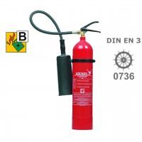 Jockel K 5 J CO²- Feuerlöscher 5 kg