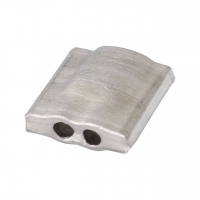 Aluminiumplomben Form 65 (100 Stk.) 12x12 mm