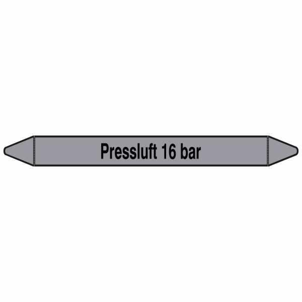 Brady Rohrmarkierer mit Text Preßluft 16 bar