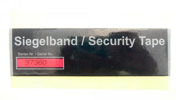 """Sicherheitssiegel """"Tri-Colour Tape"""""""