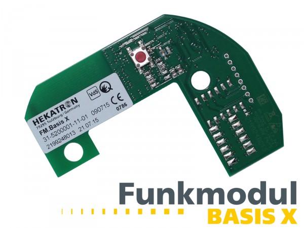 Funkmodul Basis X ® für Hekatron Genius PLUS X