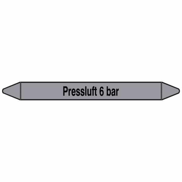 Brady Rohrmarkierer mit Text Preßluft 6 bar