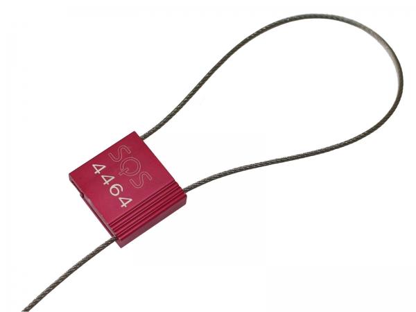 Sicherheitskabelplombe KabelLock 1,5 mm