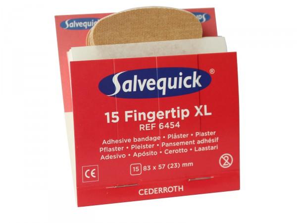 Fingerkuppen-Pflasterset Salvequick® elastisch REF 6454