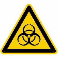 Warnzeichen Warnung vor Biogefährdung nach BGV A8 (W16)