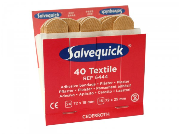 Pflasterset Salvequick® elastisch REF 6444