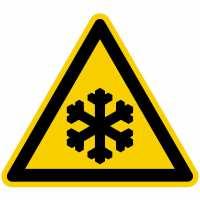 Warnung vor Kälte nach BGV A8 (W17)