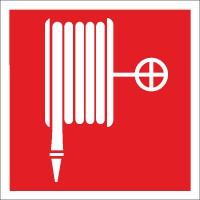 Brandschutzzeichen Löschschlauch nach BGV A8 (F03)