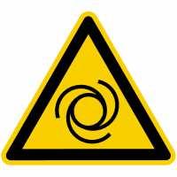 Warnung vor automatischem Anlauf nach BGV A8 (W25)