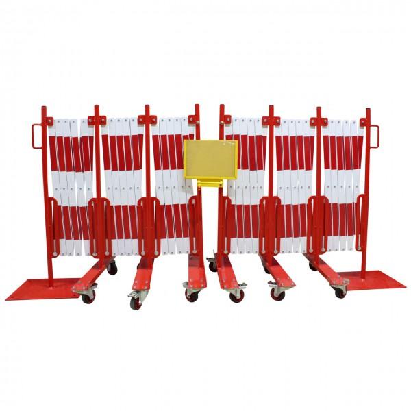 Scherengitter-Set aus Stahl 16 m - verzinkt und pulverbeschichtet