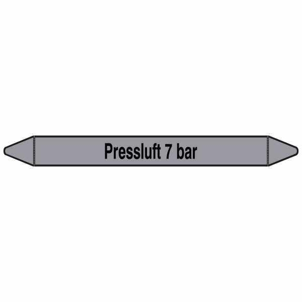 Brady Rohrmarkierer mit Text Preßluft 7 bar