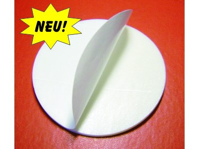 Klebepad (10 cm) für Rauchmelder-Montage