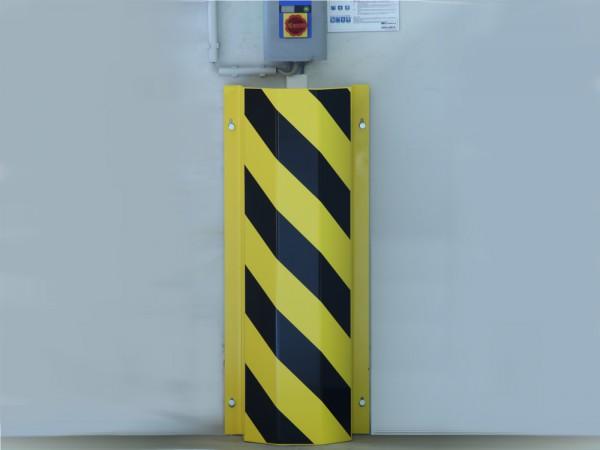 Rohranfahrschutz Stahl zur Wandmontage