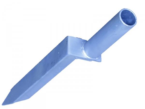 Einschlag-Bodenhülse für Kettenpfosten rund Ø 60 mm