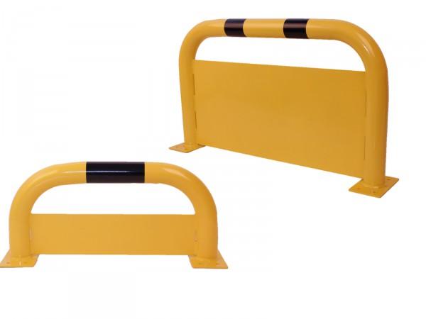 Rammschutzbügel aus Stahl mit Unterfahrschutz