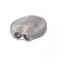 Aluminiumplomben Form 71 (100 Stk.) 10 mm