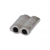 Aluminiumplomben Form 63 (100 Stk.) 9x11 mm